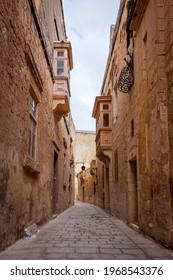 malta - mdina street view - Shutterstock ID 1968543376