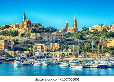 Malta: Mgarr, a harbour town in Gozo island