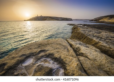 Malta sunrise at St.Paul's bay
