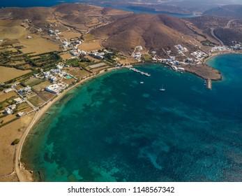 Maltezana beach in Astypalea island Greece