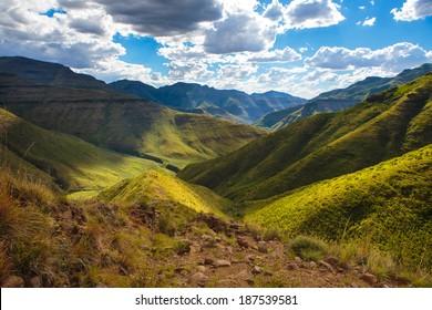 Maluti Mountains - Drakensberg Lesotho