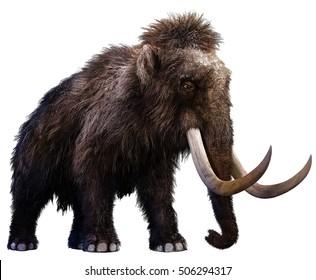 Mammoth 3D illustration