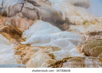 Mammoth Hot Springs. Yellowstone National Park