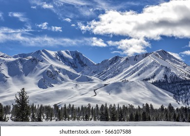 Mammoth Mountain, Eastern Sierra Nevada, California.