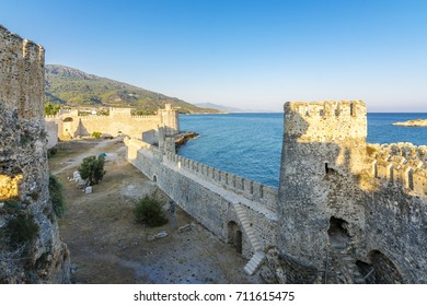 Mamure Castle view in Anamur Town