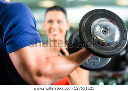 Man or Bodybuilder with