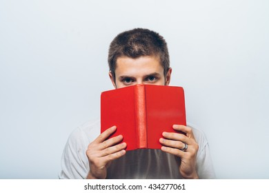 The man with a book