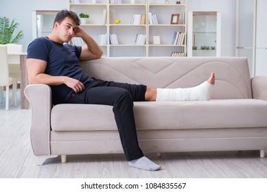 Leg Injury Images, Stock Photos & Vectors | Shutterstock