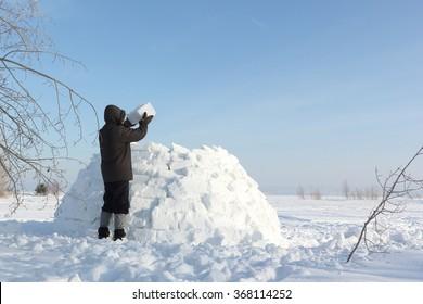 Eskimo Igloo Images, Stock Photos & Vectors   Shutterstock