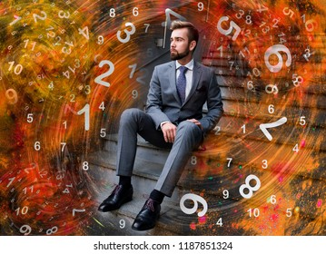 Man and business numerology
