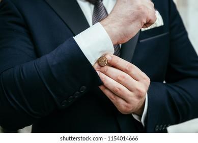 man button up cufflinks