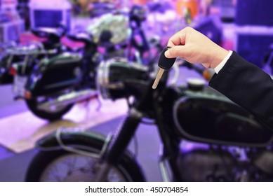 man buy motorcycle