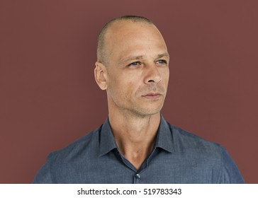 Man Casual Portrait Photography Concept