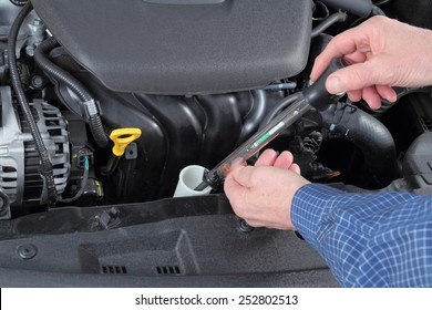 Comprobación de anticongelante en un sistema de refrigerante de Camión