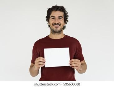 Man Cheerful Smiling Portrait Concept