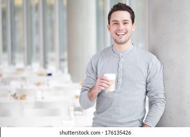man coffee tablet