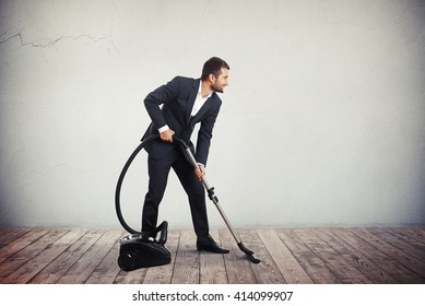 Businessman Cleaning Images, Stock Photos & Vectors
