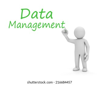 man and data management