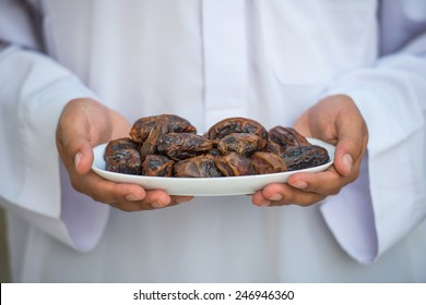 Man with dates