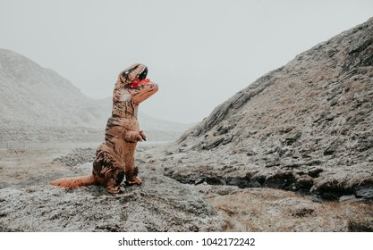 dinosaur costume images stock photos vectors shutterstock