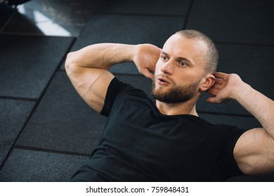 Man do exercise for belly