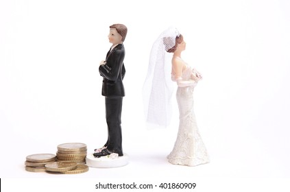 A man does not pay alimony after a divorce