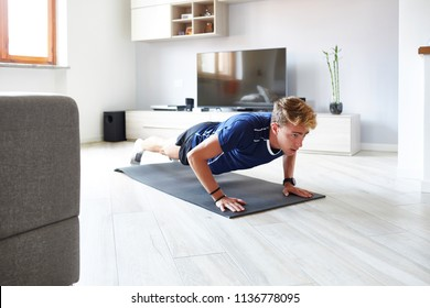 Home Workout Men Stock Photos, Images & Photography | Shutterstock