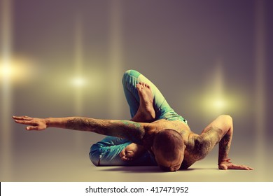 Tattoo Yoga Pose Images Stock Photos Vectors Shutterstock