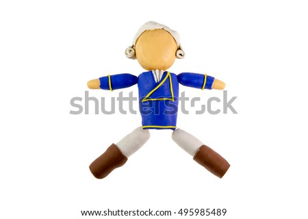 man doll clay modelling stock photo edit now 495985489 shutterstock