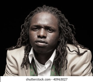 Man with dreads