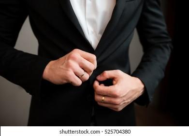 Man dress jacket