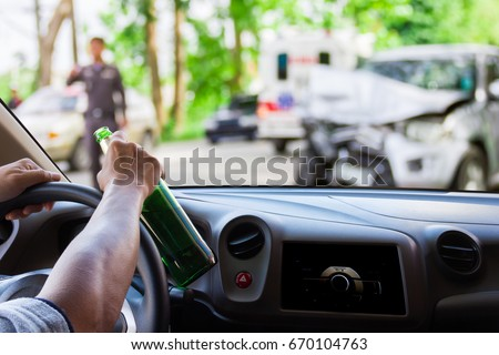 man drinking driving car accident on stock photo edit now