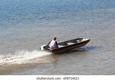 Aluminum Fishing Boat Images, Stock Photos & Vectors