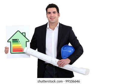 Man with flat energy cartel