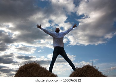 man free happy nature freedom