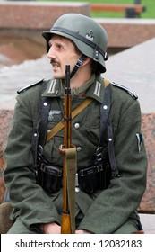man in german uniform