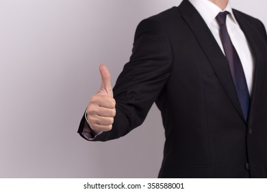Man hands showing OK-Good Job-Like sign