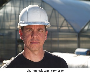 Man in Hard Hat