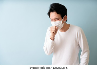 Man has the flu