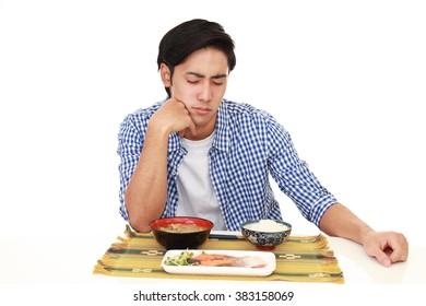 Man has no appetite