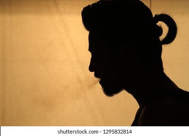 Man Head Silhouette 22nd Dec 2018 Hyderabad India