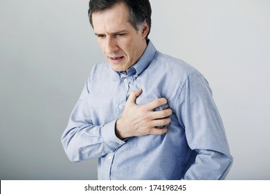 Man With Heart Attack