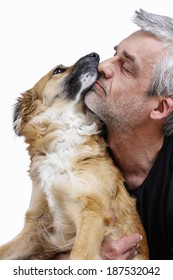 Man and his dog: friends forever