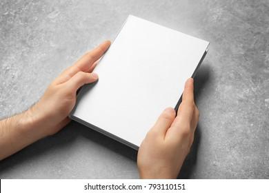Blank Book Hands Images Stock Photos Vectors Shutterstock