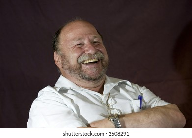 Man with Humorous Expression