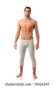 Man in Long Underwear
