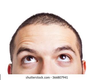 上を見る人の画像写真素材ベクター画像 Shutterstock