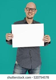 Man Male Studio Casual Copy Space Visual Portrait Concept