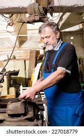 man in manufacturing