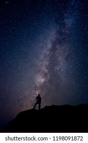 Man and Milky Way